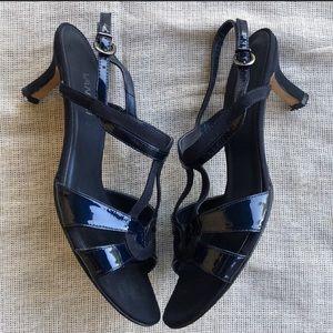Vaneli Strap Royal Blue Heels Size 9 N